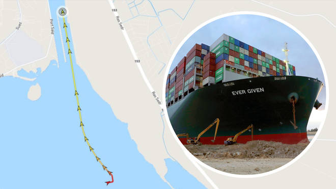 The Ever Given ship has finally made its way through the Suez Canal