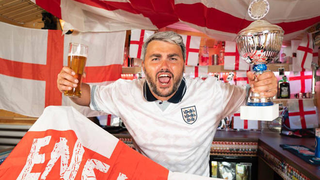 Dean is roaring England on for the win later today