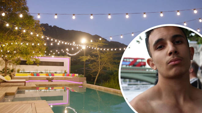 The Love Island villa was reportedly broken into by YouTuber Omer Majid