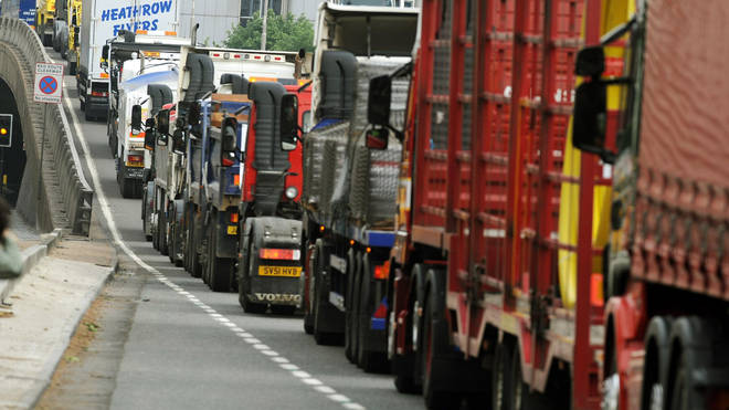 Lorry drivers have had their hours extended temporarily to help fix the shortage.