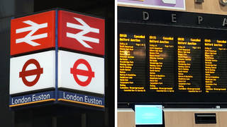 Euston station was closed at rush hour due to an incident.