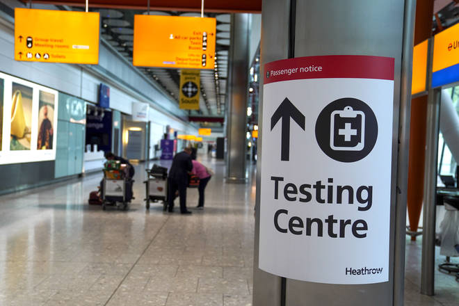 PCR tests will still be required for fully vaccinated travellers entering the UK.