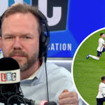 'They don't look like lottery winners': James O'Brien on England football squad