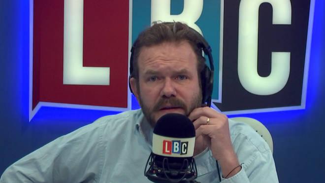 James O'Brien left this caller speechless