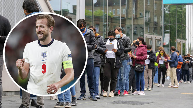 A walk in vaccination centre in Hackney will close early on Sunday after Harry Kane fired England into the Euro 2020 final.