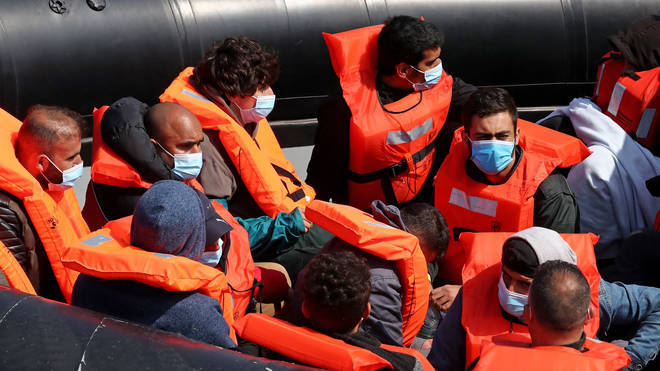 Migrants crossing the English Channel to claim asylum in the UK will not be prosecuted.