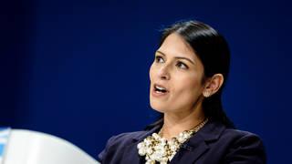 Priti Patel was accused of bullying by Sir Philip Rutnam