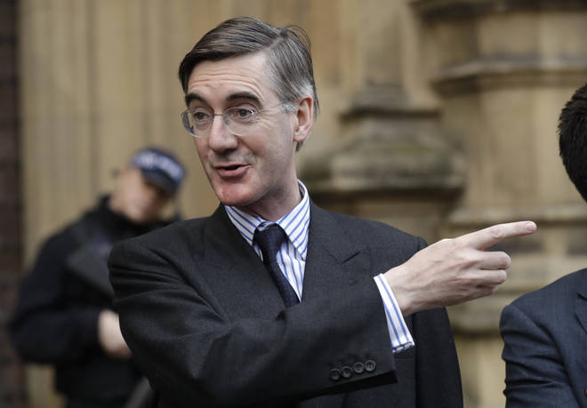 Jacob Rees-Mogg has handed in his letter of no confidence