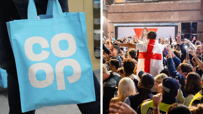 Co-op and Lidl are among the supermarkets adjusting their opening times for the Euro 2020 final.