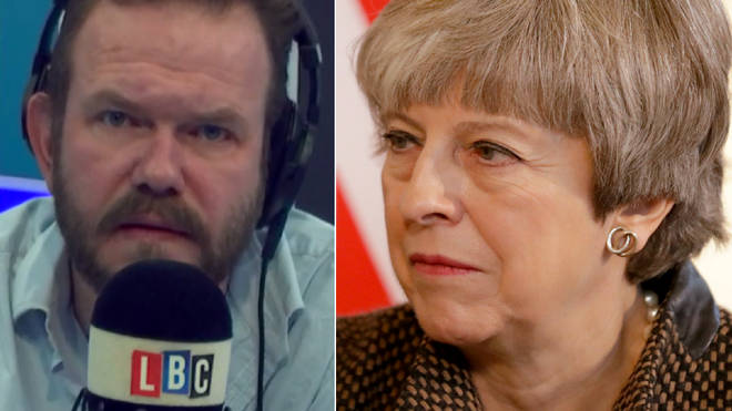 James O'Brien discussed the frustration of the Brexit divorce bill