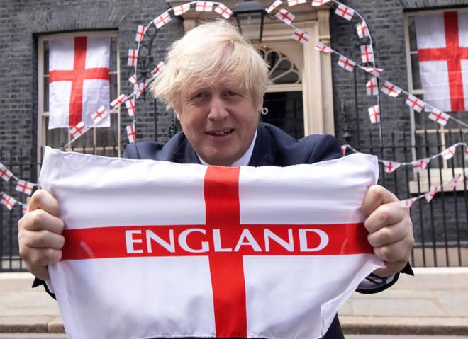 Boris Johnson is roaring England to glory tomorrow