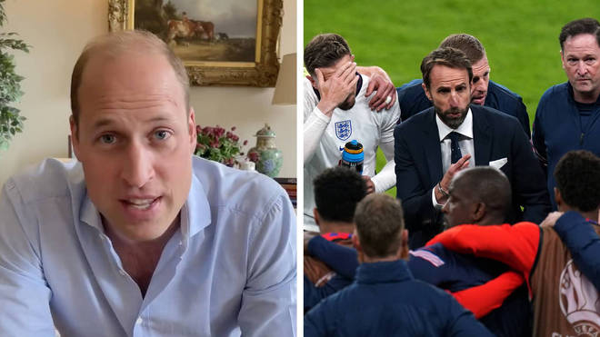 """Prince William has said he """"can't believe this is happening"""" as England gears up for tonight's final"""