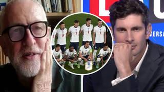Jeremy Corbyn: Gareth Southgate's England are 'fantastic' role models