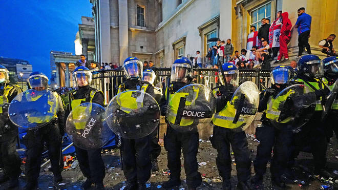 The Metropolitan Police said 49 arrests had been made as of 1:56am on Sunday