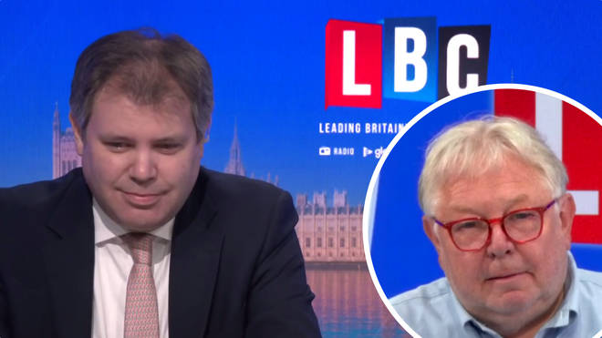 The Health Minister was speaking to LBC's Nick Ferrari at Breakfast