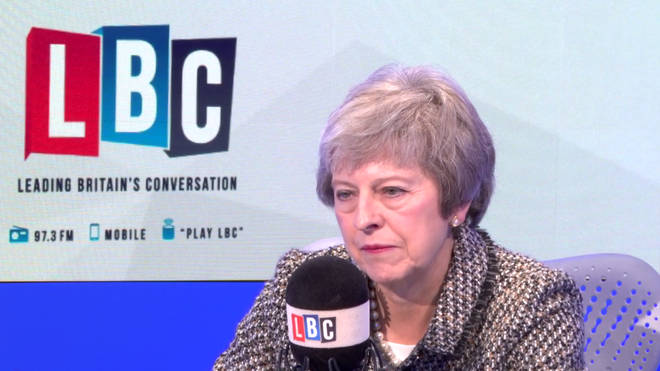 Caller tells Theresa May to stand aside