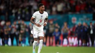 Marcus Rashford missed his penalty at last night's Euro final