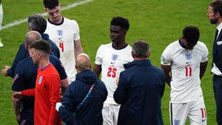 Saka, Rashford and Sancho were racially abused after the Euro 2020 final defeat