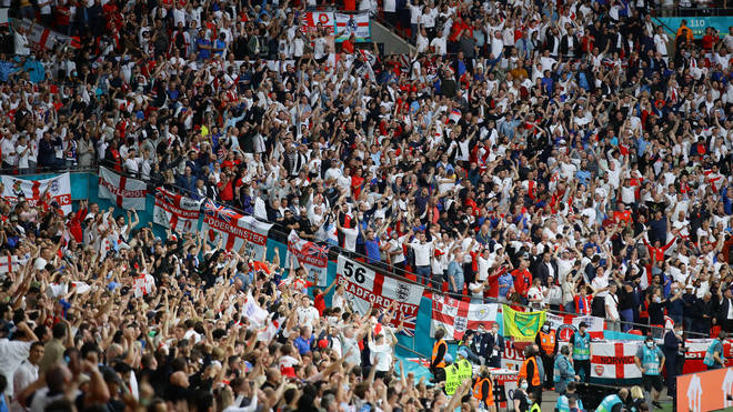 A senior WHO official was upset at how many people were allowed in Wembley