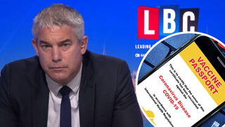 The Minister was speaking to LBC's Nick Ferrari