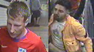 British Transport Police have released images of two men they believe may have information who could help in the investigation.