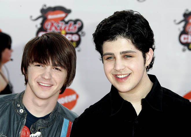Drake Bell (left) appeared in the Nickelodeon show Drake and Josh