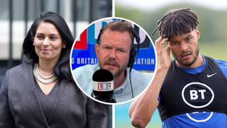 James O'Brien's 'breathtaking' speech on Tyrone Mings condemning Priti Patel