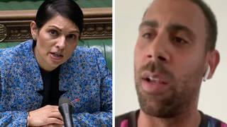 Anton Ferdinand takes aim at Priti Patel's 'hypocrisy' on taking the knee