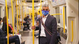 The Mayor of London has asked Transport for London to extend the mask-wearing mandate after July 19