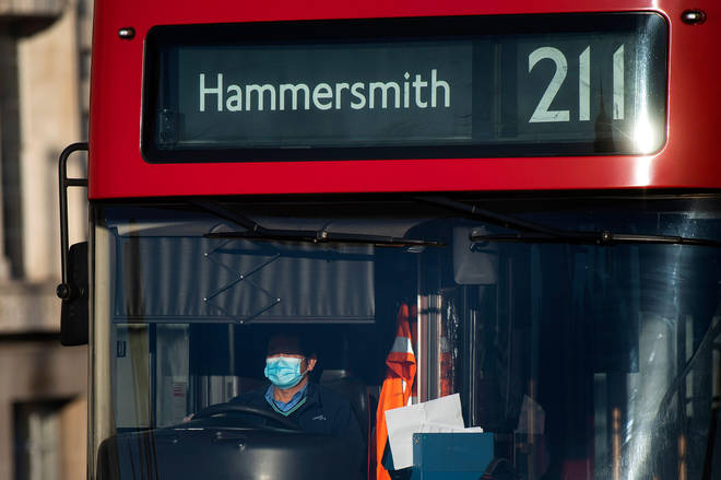 One bus driver wanted to ask the Mayor of London a question (file photo)