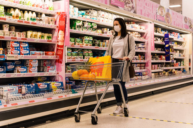 Sainsbury's have said they will have new signs and tannoy messages encouraging people to wear masks.