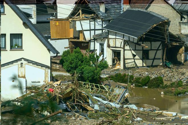 Devastating floods hit parts of Germany