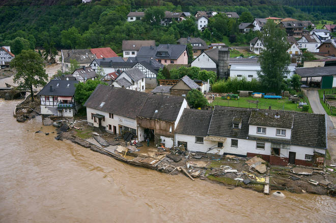 As many as 20 people have died in the flooding