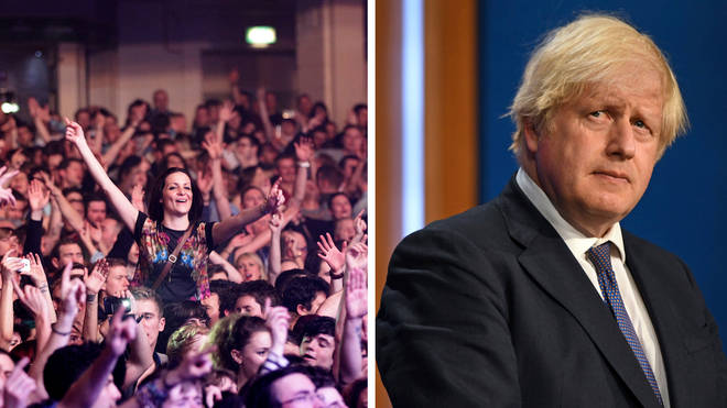 Boris Johnson's plans to urge clubs to use Covid passports but not to make them mandatory appear to be in tatters days after he announced them.
