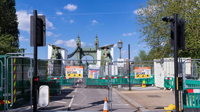 Hammersmith Bridge has not been fully open since 2019