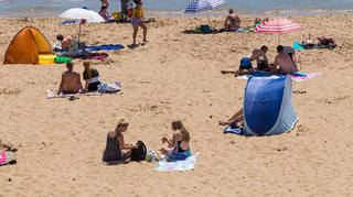 A heat alert is in place for England and is set to last until Tuesday