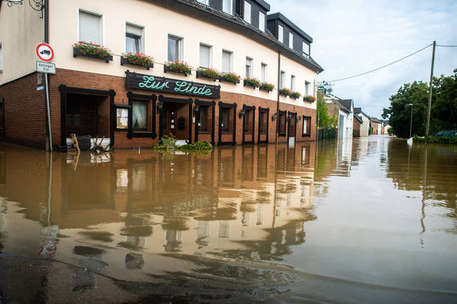 The flooding has made buildings uninhabitable and caused mudslides in some areas.