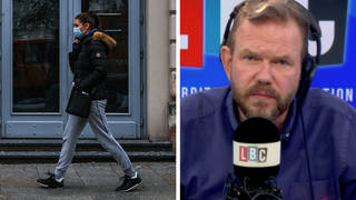 James O'Brien caller 'absolutely terrified' as 'Freedom Day' looms