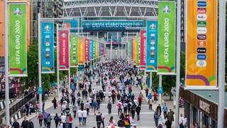 Two arrests have been made after the Euro 2020 final
