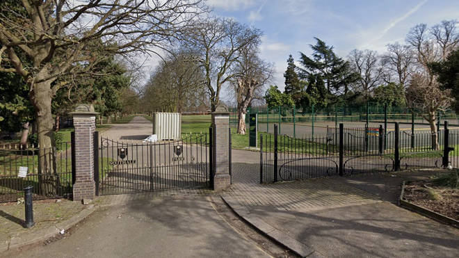 A woman's body was found in Southall Park in the early hours of Saturday morning
