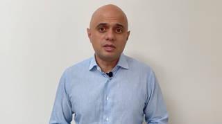 New Health Secretary Sajid Javid has tested positive for coronavirus