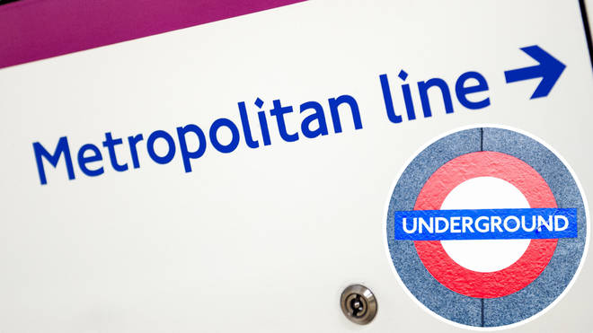 The Metropolitan Line has been suspended after too many staff were pinged by the app