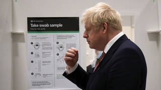 To avoid isolating, Boris Johnson will test himself with a lateral flow every morning for a week as part of the Covid daily contact testing pilot scheme.