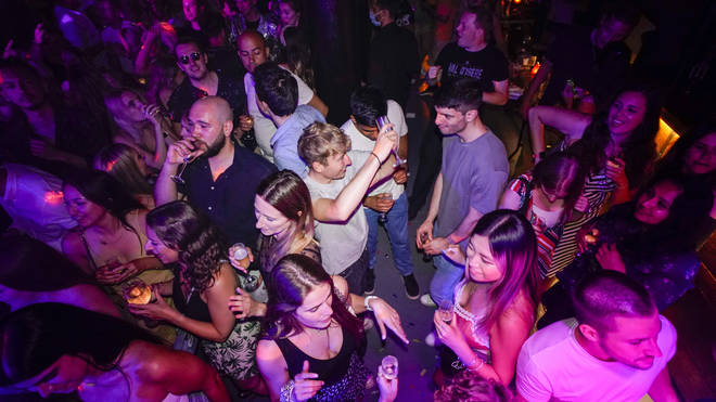Party-goers danced along with their friends to mark the occasion.
