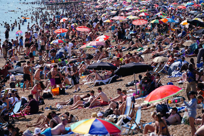 Monday could take over as the hottest day of the year, after temperatures exceeded 30C over the weekend.