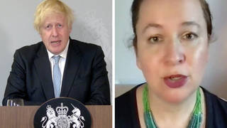 Dr Rachel Clarke hits out at Boris Johnson's 'word salad' during Covid briefing
