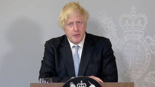 Boris Johnson said he could not guarantee Freedom Day would be irreversible