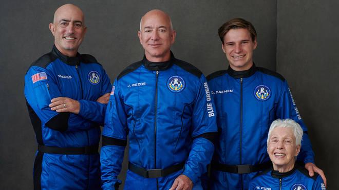 Watch again: Jeff Bezos' Blue Origin spaceflight launch