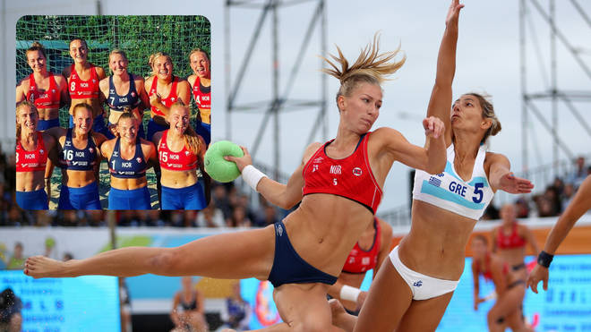 Norway's beach handball team fined €1,500 for not wearing bikini bottoms