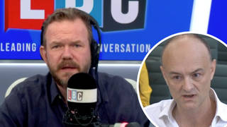 James O'Brien responds to Cummings' new shocking accusations against PM